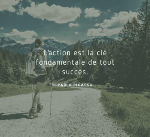 L'action est la clé fondamentale de tout succès
